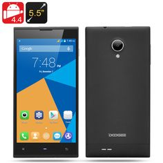 DOOGEE Dagger DG550 Android 4.4 Phone - 13 MP Rear Camera, Octa Core MTK6592 1.7 GHz, IPS HD OGS Screen