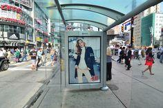 H&M - Transit Shelter #OOH #Advertising #Toronto #OutdoorAdvertising