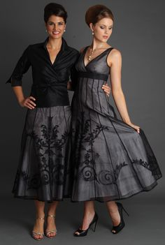 Two of the most stunning pieces in the Lace Applique Collection - for the modern and elegant mother of the bride and mother of the groom. All of our garments are available made to measure for plus size ladies. View our website to see more www.livingsilk.com #livingsilk #mohterofthebridedresses #motherofthegroomdresses #celebrateinsilk