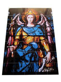 Guarda questo articolo nel mio negozio Etsy https://www.etsy.com/it/listing/386288524/religious-wall-art-st-michael-the