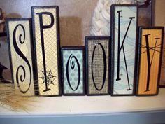 Spooky Halloween Blocks by SummerScraps on Etsy, $22.00