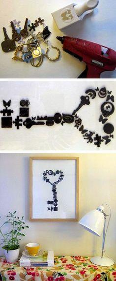 DIY Handmade Wall Art