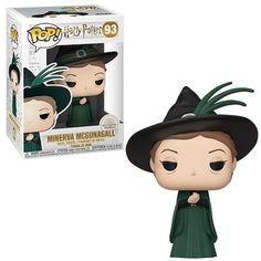 Your favorite characters from Harry Potter are adorable Pop! This Harry Potter Minerva McGonagall Yule Ball Pop! Vinyl Figure measures about 3 tall. Comes packaged in a window display box. Harry Potter Pop Figures, Harry Potter Pop Vinyl, Objet Harry Potter, Harry Potter New, Funko Pop Harry Potter, Harry Potter Things, Funk Pop, Ginny Weasley, Hermione Granger