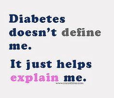 diabetes doesn't define me by sixuntilme, via Flickr #sixuntilme #kerrisparling #diabetes #T1D
