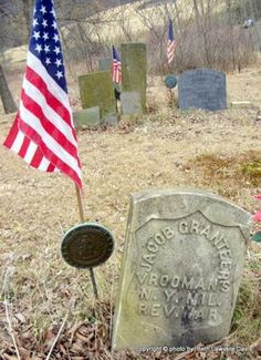 Debby's Family Genealogy Blog: Tombstone Tuesday-Jacob Grantier