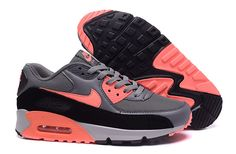Homme Nike Air Max Gris/Orange Vendre21.9010