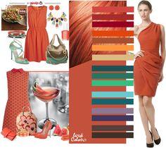 Рыжий цвет за счет своей сложности смотрится дорого и элегантно