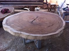 Dining Or Large Coffee Table Reclaimed Acacia Wood Rare by flowbkk