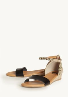 Independence Day Low Wedges By BC Footwear | Modern Vintage Shoes
