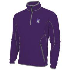 Northwestern Wildcats Antigua Ice Quarter-Zip Fleece Jacket