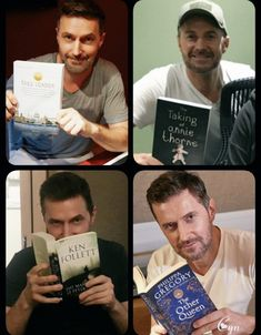"""There is nothing sexier than a well-read man. Richard Armitage, Actors Then And Now, Ken Follett, John Thornton, Safe For Work, British Actors, Sign I, Best Actor, The Hobbit"
