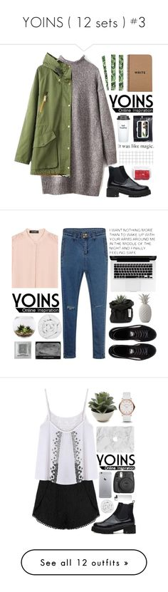 """""""YOINS ( 12 sets ) #3"""" by mia5056 ❤ liked on Polyvore featuring Bow & Drape, Lindt, yoins, The Fine Bedding Company, Home Essentials, Puma, Bloomingville, outfit, chic and fab"""