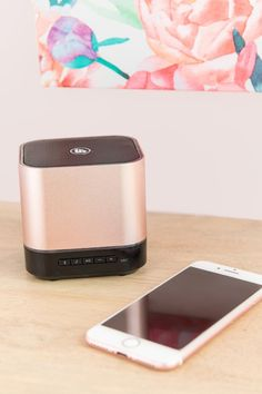 Wireless Rose Gold Speaker