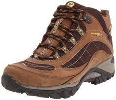 Merrell Women's Siren Waterproof Mid Leather Lace-Up Boot Merrell. $102.69. Strobel construction offers flexibility and comfort. rubber sole. Abrasion resistant heel bumper. Breathable mesh lining treated with Aegis antimicrobial solution. Nubuck and pig suede leather upper. leather. Bellows tongue keeps debris out
