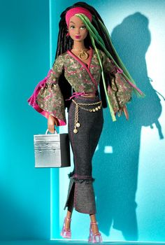 """She is giving me Beyonce and Solange when MS. Tina still """"styled"""" them. 1 Modern Circle Simone Doll"""