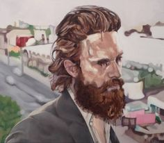 "Saatchi Art Artist Russell Oliver; Painting, ""Bored in the U.S.A"" #art"