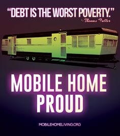 Debt is the worst poverty..