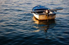 lonely boat by marin.tomic on flickr