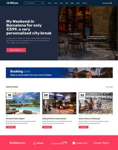 iffiliate - WooCommerce Amazon Affiliates Theme - ModelTheme Blog Websites, Top Country, Canary Islands, City Break, Day Trips, Lorem Ipsum, Edinburgh, Britain, Blogging