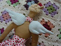 Handmade By Hannah: Tilda sewing angel