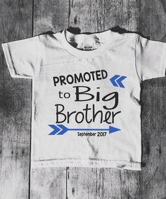 Reveal Boy Big Brother Shirt Big Bro T-Shirt I/'m Going To Be A Big Brother