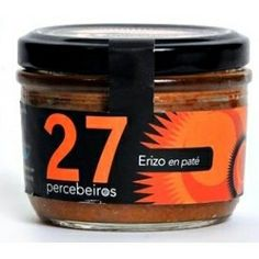 Pate de Erizos. #marenostrumgourmet Coffee Cans, Container, Canning, Spanish, Food, Gourmet, Gastronomia, Sweets, Hedgehogs