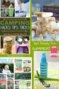 Get ready for summer! Check out these great ideas for summer fun and entertaining. Find fabulous food and drink recipes, and tips and tricks for the best summer ever. Plus, link up at Home Matters. Camping Drinks, Camping Meals, Camping Hacks, Camping Activities, Activities For Kids, Camping Club, Bored Kids, Camping Holiday, Camping Essentials
