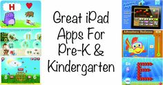 Great iPad Apps for Pre-k & Kindergarten (from Heidi Songs)