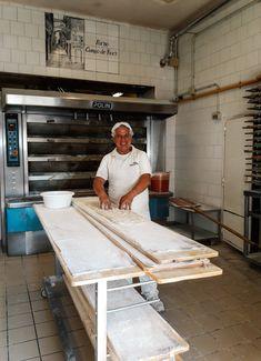 Baker at Forno Campo dei Fiori Rome, Desk, Italy, People, Furniture, Home Decor, Homemade Home Decor, Desktop, Italia