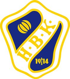 Halmstads Bollklubb (Halmstad, HBK)   Country: Sverige / Sweden. País: Suecia   Founded/Fundado: 1914/03/06   Badge/Crest/Logo/Escudo.