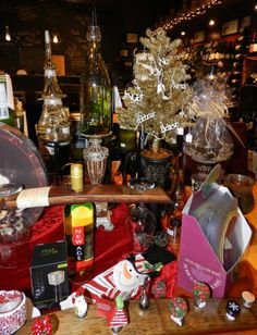 Can you believe Market Alley Wines can be your one stop gift shopping!!