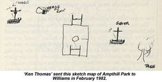 Ken Thomas' dodgy sketch of the solution.