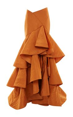 "Rosie Assoulin via Moda Operandi. A beautiful skirt and top: The perfect at-home ""hostess"" look for New Year's Eve!"