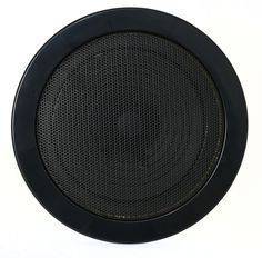 """""""5 1/4\""""- Black Dual Cone Speaker with Grill. This is a brand new speaker! 5 1/4"""" Bi-flex speaker with 3 oz. magnet weight. 10 watts maximum power handling. 4 ohm impedance. 85Hz-18kHz frequency response. 11/2"""" mounting depth. Twist-on gloss Black plastic grill with metal mesh. If you're not sure if this is the speaker you need, just contact us and one of our techs will be more than happy to assist. This is for one black speaker. If you need two, please change the quantity at the top of the page Antique Radio, Metal Mesh, Grills, Handle, Plastic, Happy, Top, Black"""