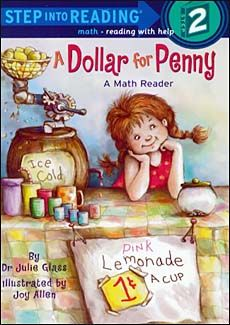 cute early reader for kids learning money