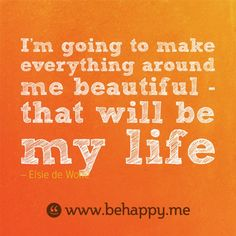 Behappy.me - inspiring, beautifully designed quote every day.