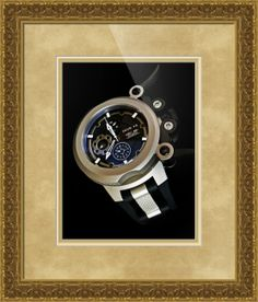 """Invicta Coalition Forces Trigger watch framed print in Classical Baroque configuration. Price starts at $173 (Petite 24.5"""" x 22.5"""").  http://www.imagekind.com/Invicta-Coalition-Forces-Trigger_art?IMID=9df2783d-f741-4a62-bba6-f0c3c22fd165"""