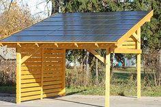 Gazebo Pergola, Patio Roof, Free Standing Carport, Patio Design, House Design, Modern Carport, Corner Sheds, Carport Plans, Pergola Decorations