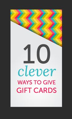 I used to think that gift cards were the cop-out of gift giving. Not much personality, not a lot of thought. And thenafter being on boththe giving and receiving end ofa series of lame presents – it happens to the best of us –I realizeda few things. Gift cards give people exactly what they want. …