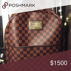 Louis Vuitton Back pack Great travel bag Louis Vuitton Bags Backpacks