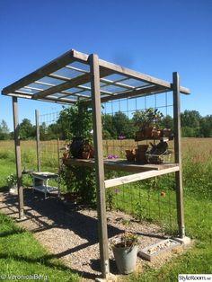 trädgård,planteringsbord