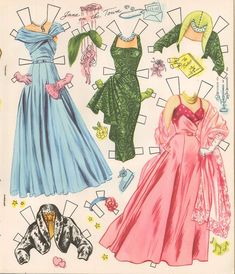 VINTGE 1955 JANE POWELL PAPER DOLL ~Pretty~ REPRODUCTION~Org SIZE Uncut NO1 SELR | eBay