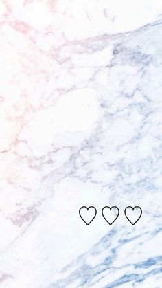 Pastel color marble with cute hearts
