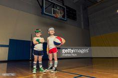Foto de stock : Basketball Duo