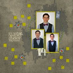 For the Guys Page Kit by #NibblesSkribbles Sometimes, I struggle with scrapping the guy photos, and with 3 sons and a husband, I have a lot of guy photos! #thestudio #digitalscrapbooking