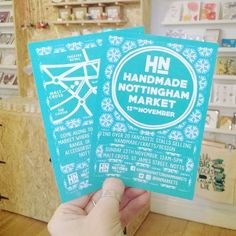 regram @hnmarkets The flyers have arrived!  #hnmarkets #market #Christmasmarket #wintermarket #handmadenottinghammarkets #lovenotts #shopnotts #nottingham