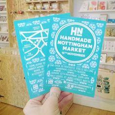 regram @hnmarkets The flyers have arrived!  #hnmarkets #market #Christmasmarket #wintermarket #handmadenottinghammarkets #lovenotts #shopnotts #nottingham