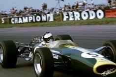 1967 GP Wielkiej Brytanii (Silverstone) J.Clark (Lotus 49 - Ford)