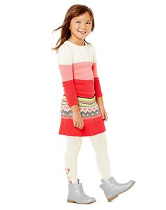 Concert Cutie Sweater Dress with tights and boots