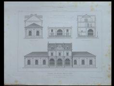 GARE DE FONTAINEBLEAU - 1861 - 2 GRAVURES SUR ACIER - | eBay